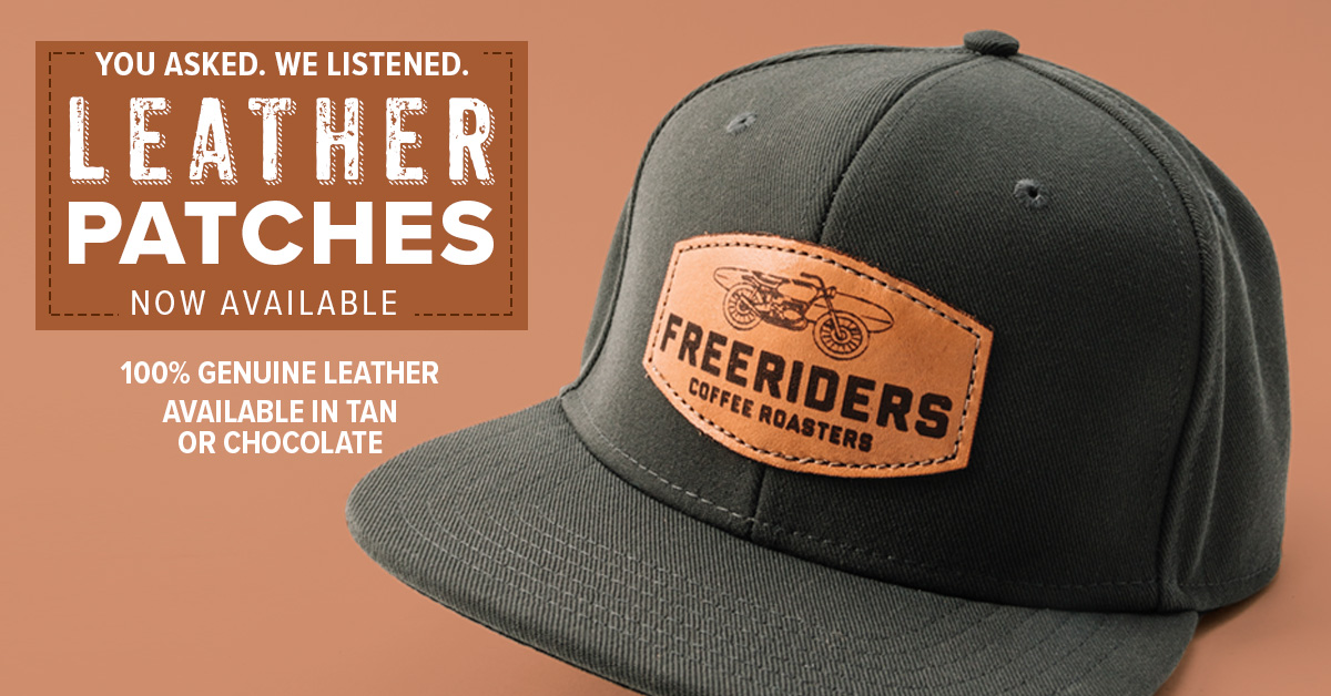 Introducing Leather Patches by Outdoor Cap-Now Available - FB